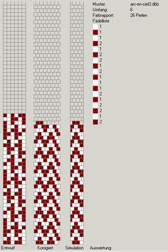Schlauchketten häkeln - Musterbibliothek 6 around