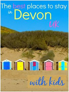 With golden sands from the English Riviera to the Exmoor coast, I've tracked down some of the best places to stay in Devon with kids, from quirky to luxury Days Out With Kids, Family Days Out, Fly Travel, Travel Tips, Travel Uk, Luxury Travel, Travel Ideas, Devon Uk, South Devon