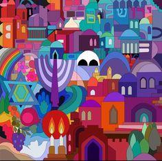 "My Design ""Jerusalem Mosaic"""