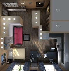 idea for a one room appartment