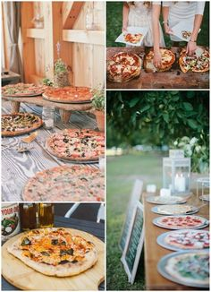 Wedding Reception Food foodie-wedding-bar-pizza-evening-food - Forget all you thought you knew about nuptial noms, when it comes to wedding food station ideas - you've not likely seen the likes of these! Wedding Food Stations, Wedding Reception Food, Wedding Catering, Wedding Ideas, Evening Wedding Food, Party Wedding, Wedding Snacks, Wedding Card, Diy Wedding