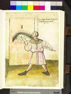 Mendel Housebook, Amb. 317.2° Folio 35b recto, c 1425, Nuremberg (Nürnberg)