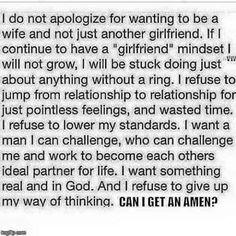 Wife material! Amen