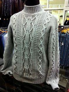 Best Knitting Men Sweater Inspiration 43 Ideas – The Best Ideas Aran Knitting Patterns, Baby Sweater Knitting Pattern, Cardigan Pattern, Lace Knitting, Knit Patterns, Cable Knit Sweaters, Pulls, Men Sweater, Crochet