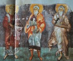 manuel-panselinos-from-the-holy-church-of-the-protaton (18) Byzantine Icons, Orthodox Icons, Sacred Art, Holi, Saints, 18th, Religion, Projects To Try, Painting