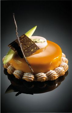 Gastronomique Dessert | Chocolats Barry Purées de fruits Ponthier Cointreau, section ...
