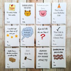 Funny Gift Tags Christmas Holiday Handmade by ArtfulCreationsByDeb ...
