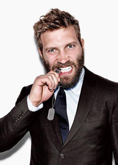 Jai Courtney during an Esquire shoot...