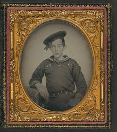 [Unidentified young sailor in Union uniform] (LOC) | Flickr - Photo Sharing!