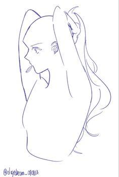 Drawing Expressions, Art Inspiration Drawing, Drawing Base, Drawing Lips, Art Drawings Sketches Simple, Art Base, Drawing Reference Poses, Cartoon Art Styles, Art Tutorials