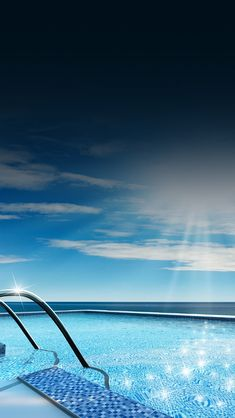 shiny swimming pool #iPhone #5s #Wallpaper