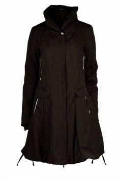 J Lo Women's 3/4-length Hooded Wool Coat by JLO   Hooded wool coat ...