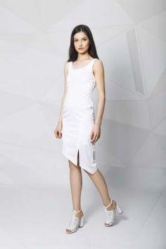 Asymmetrical dress Asymmetrical Dress, White Dress, Spring Summer, Shopping, Collection, Dresses, Fashion, Vestidos, Moda
