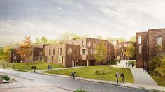 Wohnungsbau HS-architekten | arch.viz nadinekuhn.com