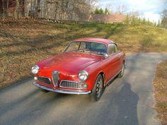 Classic Italian Cars  1960 Alfa Romeo Giulietta Sprint