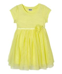 Loving this Yellow Sunlight Butterfly Dress - Infant & Toddler on #zulily! #zulilyfinds