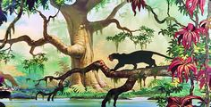 Bagheera, I have a black cat named after him!
