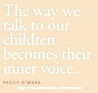 So true. I don't know how often I hear my mom and Grammy's voices telling me the right way to do something.