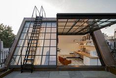 Incredible Loft Bedroom Design Idea 7