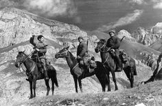 Mounted red army scouts in the mountains of the northern caucasus... News Photo 170986390   Getty Images