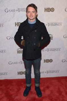 "Elijah Wood Photos - HBO And Blackhouse Foundation ""Game Of Thrones"" Sundance Soiree - 2014 Park City - Zimbio"