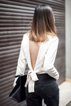 A Classy Take On The Deep V-Back | Be Daze Live