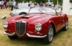 Overall winner of the 2013 Cartier Style et Luxe - 1955 Lancia Aurelia B24S Spider