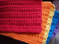 Crocheted Dish Cloths by pinkleo, via Flickr