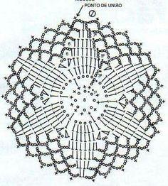 Crocheted motif no. 1617 - Her Crochet Crochet Dreamcatcher Pattern, Mandala Au Crochet, Crochet Stars, Crochet Circles, Crochet Motifs, Crochet Blocks, Crochet Snowflakes, Crochet Round, Crochet Home