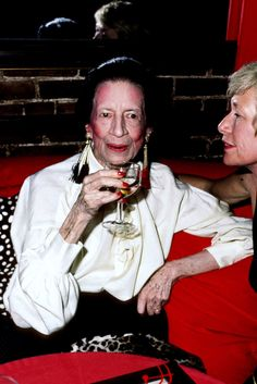 June 14, 1984  Where: At Diana Vreeland's Book Party.    Photo:  Ron Galella/WireImage
