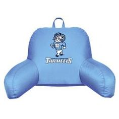North Carolina Tarheels UNC Bed Rest Backrest Reading Pillow