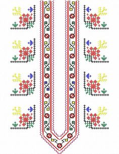 Bulgarian Folk Embroidery patterns