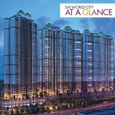 Sai World City At a Glance  An awe-inspiring 3.5 lacs SQ.ft of natural surroundings and landscaping with golf putting  #ParadiseGroup #SaiWorldCity #NaviMumbai #Panvel #RealEstate #Residential #Luxury #Homes