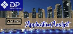 Jobs in Dubai Properties as Application Analyst.Graduate in Computer applications with knowledge of the latest software and technologies.