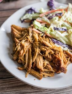 Small Batch Slow Cooker Pulled Pork | Follow the Ruels