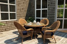 Catalina Straw Stain Outdoor Furniture by Forever Patio, Model FP-CAT | Northcape International