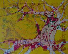 Original Tree Painting by Denisa Kolarova Abstract Expressionism, Abstract Art, Original Paintings, Original Art, Couple Painting, Buy Art, Saatchi Art, Canvas Art, Landscape