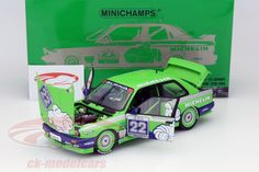 BMW M3, Stand-in Winner Hockenheim DTM 1988, No.22, Christian Danner, Team Alpina. Minichamps, 1/18, Limited Edition 762 pcs. Price (2016): 120 EUR.