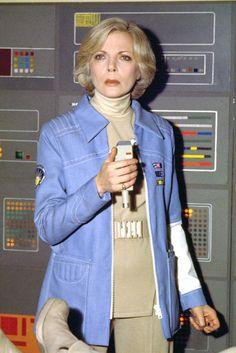 Space 1999 Barbara Bain 24x36 Poster Print Blue Jacket | eBay