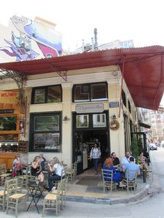 Nancy's Sweet Home - If you are visiting Athens, then this is THE place to come for a dessert!
