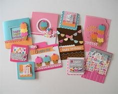 Show details for Exclusive Sweet Celebrations Card Kit by Doodlebug Design