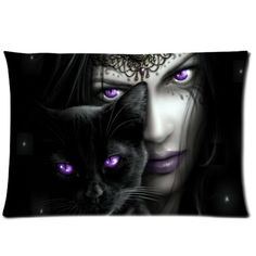 Dark Gothic Pillowcase Throw Pillow Case Cushion Cover 16 by Pillow fashiion -- Awesome products selected by Anna Churchill
