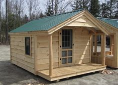 Looking for an outside office shed? Check out this prefab home office from Jamaica Cottage Shop that can also be used as a playhouse, studio, workshop & more. Small Houses On Wheels, House On Wheels, Tiny Home Office, Home Office Design, Office Decor, House Design, Prefabricated Houses, Prefab Homes, Prefab Cabins