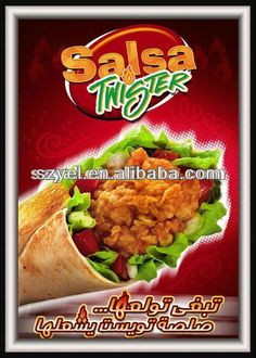 food advertisement posters…