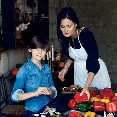 Healthy recipes by blogger Mimi Thorisson, inspired by her idyllic life in the French countryside.