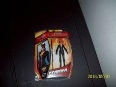"DC Comic 3"" Catwoman Figure 2015, 3in Adult Collectors, Arkham City, Boys & Girl #Mattel"