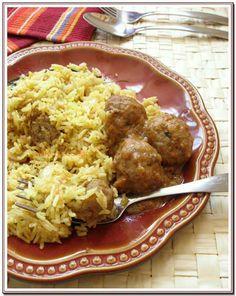 Kofta Curry -- spicy chicken balls in a rich gravy