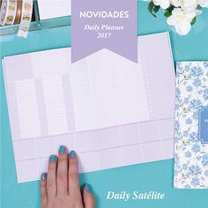 O Daily Satélite é um caderninho versátil que você pode usar quando não puder levar o seu Daily Planner... www.paperview.com.br #meudailyplanner #dailyplanner #planner2017 #dailysatelite #plannerpocket #paperview_papelaria