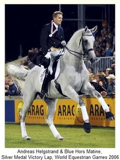 "Blue Hors Martine, the beautiful ""Dancing Mare"" of dressage"