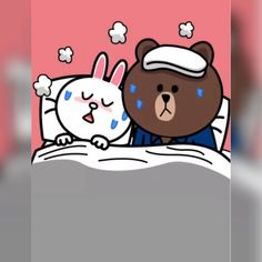 Cony Brown, Brown Bear, Line Cony, Chibi Cat, Quotes Gif, Cute Couple Cartoon, Bunny And Bear, Cute Love Gif, Brown Line